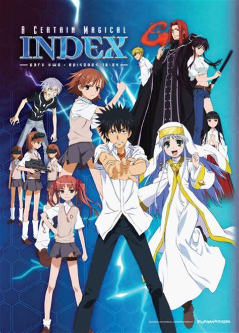 to aru majutsu no index anime planet