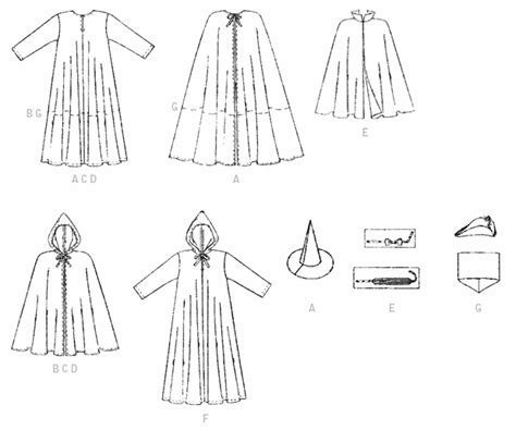 pattern review template mccall s 7225 misses men s and teen boys cape and tunic