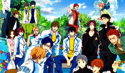 quot free take your marks quot movie gets new pv and visual