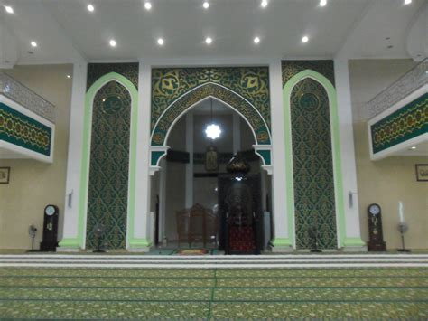 Interior Of File Interior Of Nurul Falah Great Mosque Paser Jpg