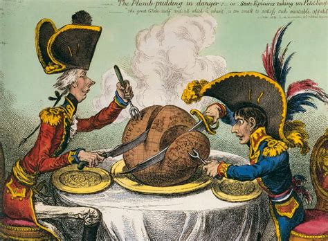 The Plumb Pudding In Danger by The Satirical Of Gillray Orwellwasright S