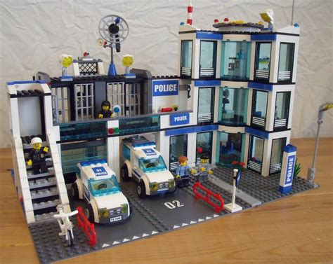 House Plan Creator Lego Maker Lego 7498 Police Station