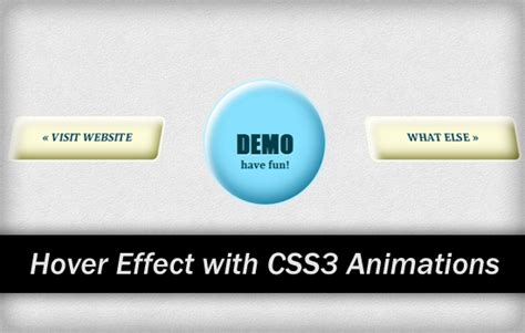 css3 hover link effects designmodo nifty hover effects with css3 animations