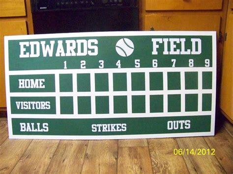 The 25 Best Baseball Scoreboard Ideas On Pinterest Scoreboard Ideas