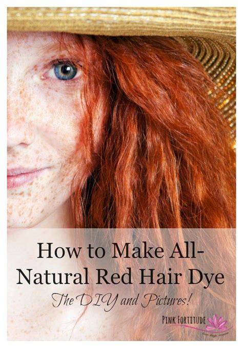 find your natural hair color the 25 best natural red hair dye ideas on pinterest red