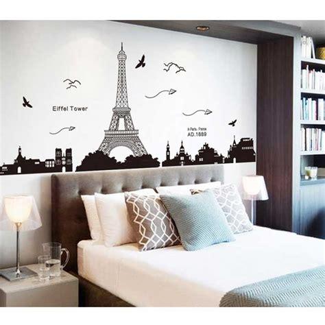 wallpaper dinding kamar gambar paris 10 ide kreatif hiasan dinding kamar tidur paling unik