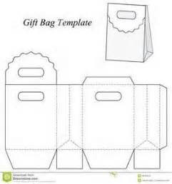 gift bag net template gift bags templates and bags on
