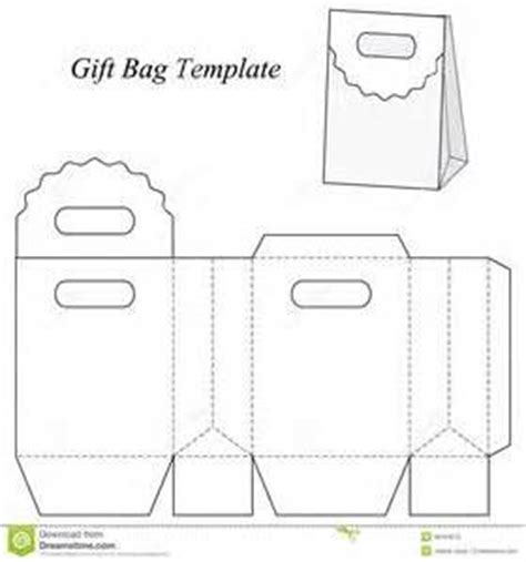 How To Make A Paper Gift Bag Templates - gift bags templates and bags on