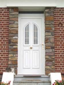 porte entree blanche pvc vitree mf habitat