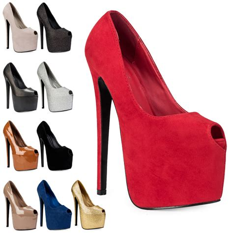 high heels stiletto 7 inch new silver glitter womens peep toe 7 inch stiletto