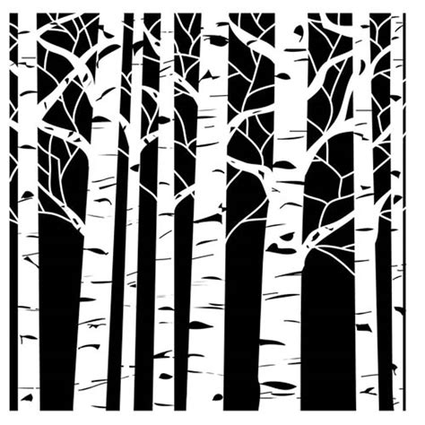 tree stencil template 1000 images about трафареты on flower