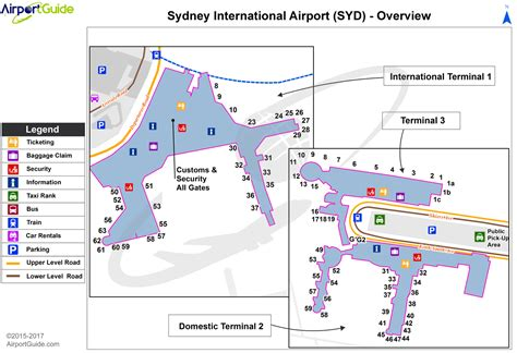 sydney airport diagram airport maps charts diagrams sydney kingsford smith