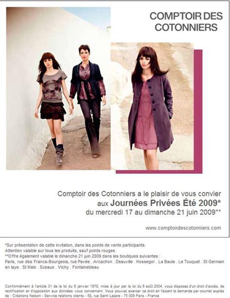 vente privee comptoir des cotonniers ventes priv 233 es comptoir des cotonniers j adore la mode