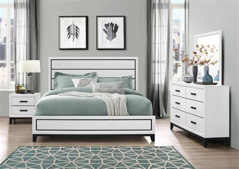 kate white bedroom global furniture usa