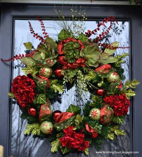 christmas wreaths decor ideas doors decor holidays