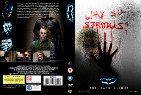 dvd slipcover the dark knight dvd cover by taghi on deviantart