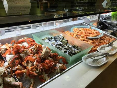 Seafood Picture Of Terraces Restaurant Main Beach Mirage Buffet Hours