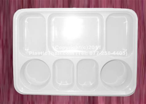 7 compartment plates with lid