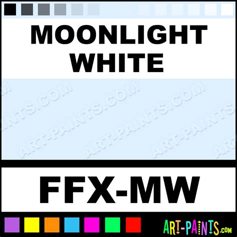 moonlight white fx makeup paints ffx mw moonlight white paint moonlight white
