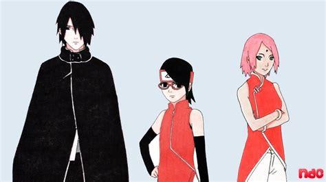 sarada sasuke uchiha and sakura family speed drawing uchiha family sasuke sakura sarada
