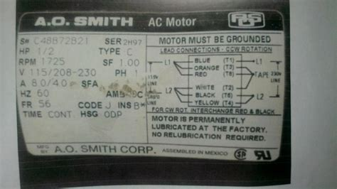 ao smith motors wiring diagram agnitum me