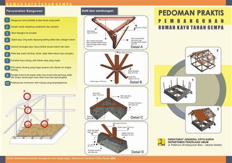 Poster Kayu 44 secret architecture tips untuk rumah tahan gempa bumi
