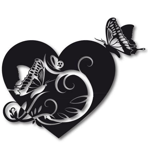 Liebes Motive by Liebes Wandtattoo Herz Mit Schmetterlingen Aufkleber