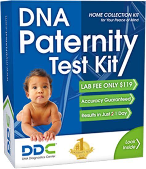 home paternity test kit setup dna swab test mydnatest