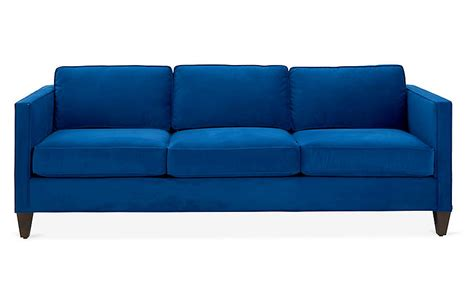 cecilia sofa royal blue velvet sofas settees living