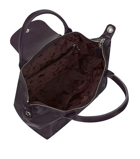 Longch Cuir Small 11 longch le pliage cuir small handbag in black lyst