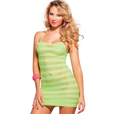 Green Dhisie Nightdress Gstring mesh babydoll womens pajama sets sleepwear nightwear robe ebay