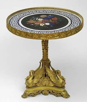 Russian Table by Russian Imperial Winter Palace Table For Bonhams Sale