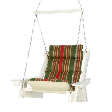 head swing durawood single cushioned swing