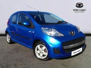 Peugeot 107 Blue United Kingdom Peugeot 107 Blue Used Search For Your