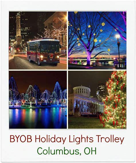 byob lights trolley columbus byob lights trolley around columbus
