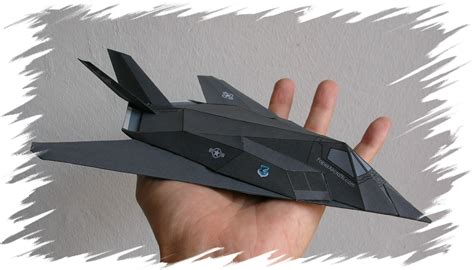 How To Make Paper Models - flyable modern jets realistic 3d paper airplane models