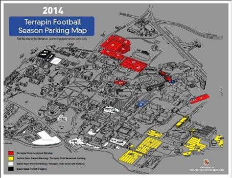 Regents Parking Garage Umd by Maryland Tailgating