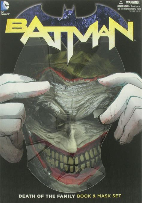 Galleon Batman Death Of The Family Book And Joker Mask Set
