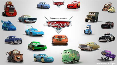 Cars Movie Characters Names Pictures To Pin On Pinterest