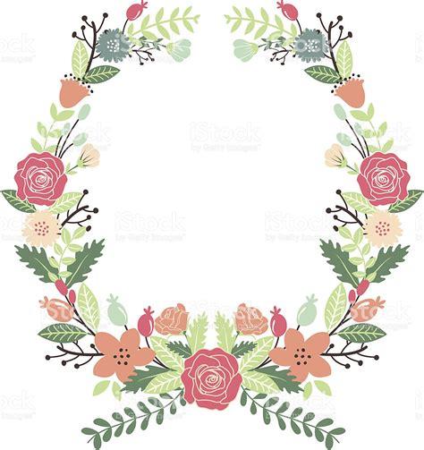 imagenes de flores vintage flores vintage corona arte vectorial de stock y m 225 s