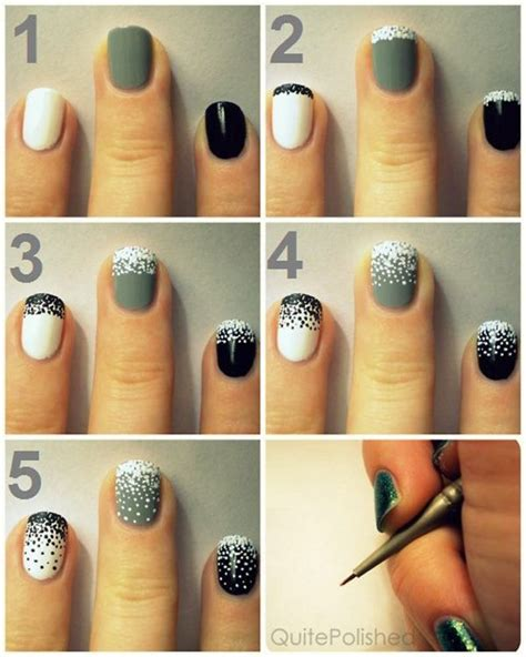 How To Decorate Nails With Nail by Stylish Nail Decoration Alldaychic