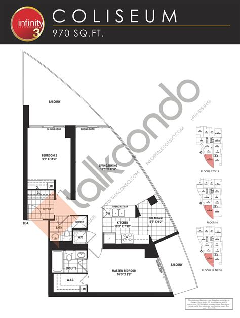 infinity condo floor plans infinity 3 condos talkcondo