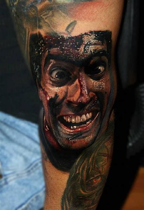 tattoo horror pictures 40 eklige horror tattoos tattoo leg sleeves and tatting