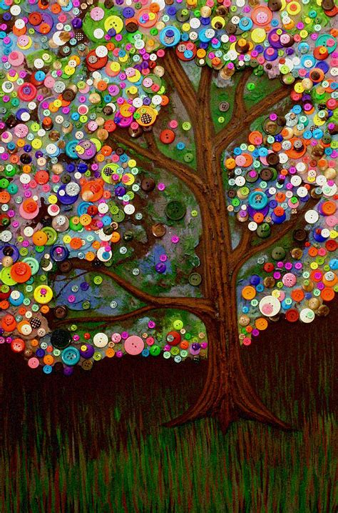 Button Painting button tree 0007 by furlow