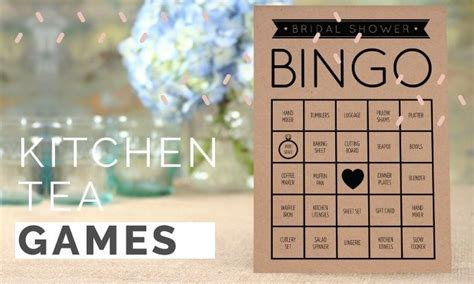 Kitchen Tea Games Ideas by Kitchen Tea Games Bridal Shower Activities Kitchen Tea