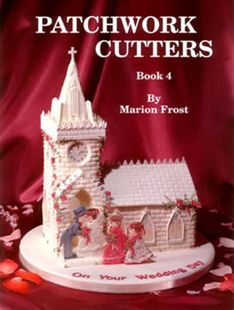 Patchwork Fondant Cutters - patchwork cutters books icing sugarcraft cake