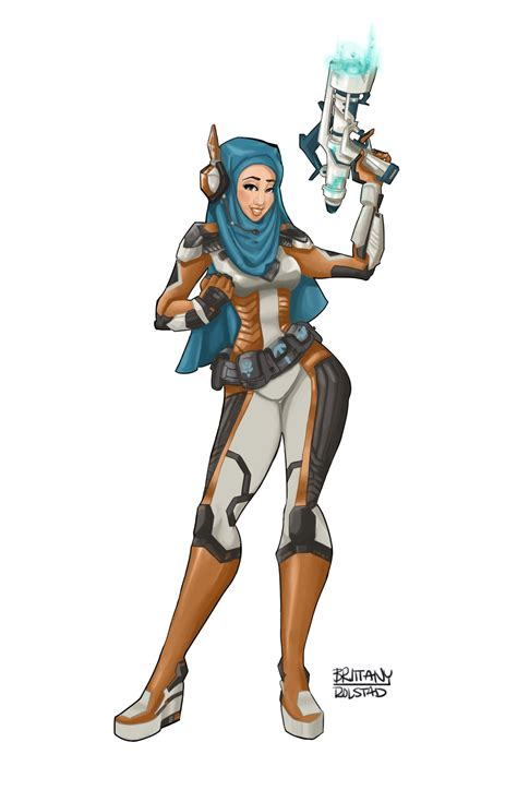 hot female overwatch characters brittanyjin draws we had to create overwatch characters