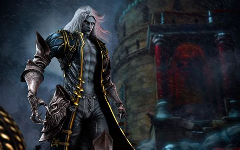 Lord Of The Shadows alucard in castlevania of shadow 2 wide wallpaper