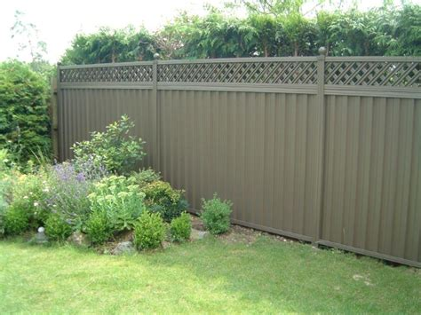Backyard Metal Fence by Metal Garden Fence Garden Fences 2440 Write