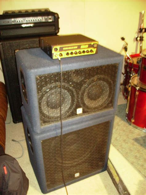 yorkville bass cabinet 2x10 image 435068 audiofanzine